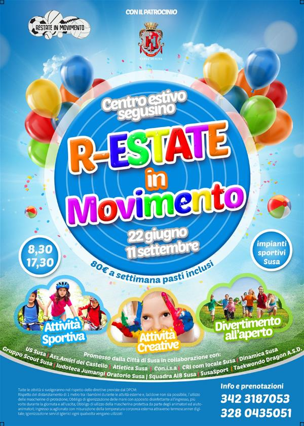 "CENTRO ESTIVO ""R-ESTATE IN MOVIMENTO"""